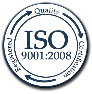 ISO 9001:2008 Quality Certified