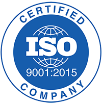 ISO 9001:2015 Quality Certified